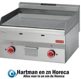 GN024 -Gastro M 600 elektrische bakplaat 60/60 FTE2-CR