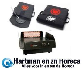 "XLVV001+PFPD001+XLPTDS200 - Cooktek VaporVent Pizza Bag 18"" compleet, 230V / 1,8kW zwart"