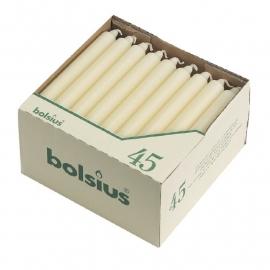 P963 - Bolsius kaarsen wit Wit (Box 45)