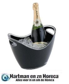 CF311 - Wine / Champagne Bowl GROOT ZWART