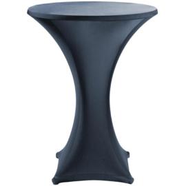CG587 - Jersey stretch tafelkleed zwart tbv U502 105 CM