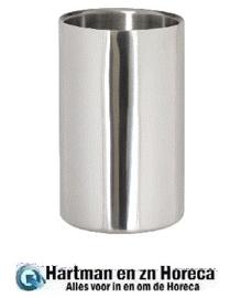 DM118 - Geborstelde RVS wijnkoeler