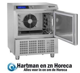 865789951 - Gram PROCESS KPS 21 SH shock-koeler/vriezer - 5x 1/1 GN of Bakkersnorm GRAM