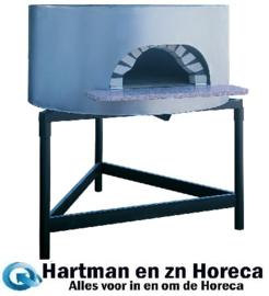FBK-1100/MONT - Traditionele pizza-oven op hout ø 1100 mm - Samengesteld - DIAMOND