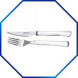 845001 - Steakmes lengte 220 mm