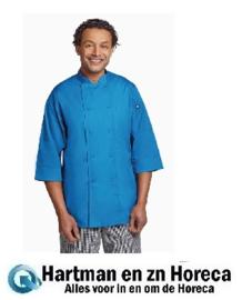 B178  - Chef Works unisex koksbuis blauw