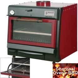CBQ-060 - Houtskooloven-BBQ, GN 1/1 (60 Kg/h)