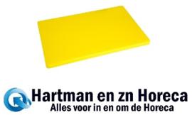 DM002 - Hygiplas LDPE extra dikke snijplank geel