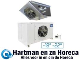 HN120-NP - Vriescelmotor 3,13 m³ buiten opstelling Temperatuur -18° -22° DIAMOND