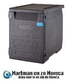 DW583 -Cambro Cam GoBox geïsoleerde voedselcontainer 126ltr met 6 rails