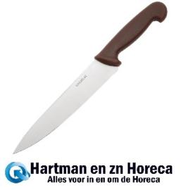 C842 - Hygiplas koksmes 21,5cm bruin