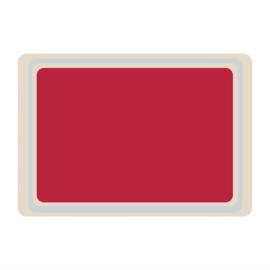 DS081 -Roltex Original dienblad rood 53x37cm