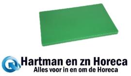 HC876 -Hygiplas LDPE extra dikke snijplank groen