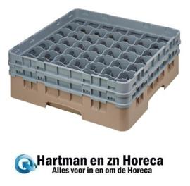 DE798-Cambro Camrack vaatwaskorf met 49 compartimenten max. glashoogte 13,3cm