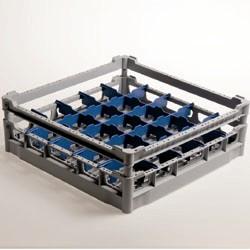 DB125 Mand met afscheider voor 25 glazen Ø 90 mm, h130 - Polypropyleen