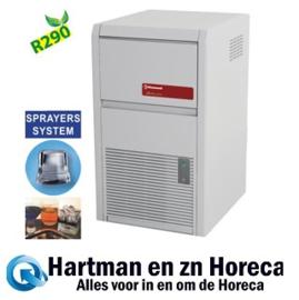 ICE22W-R2 - Volle ijsblokjesmachine 22 kg + reserve - WATER GEKOELD DIAMOND HORECA