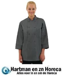 A934 -Chef Works unisex koksbuis grijs