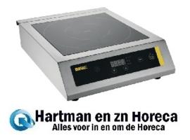 CP799 - Buffalo inductiekookplaat zwaar gebruik 3 kW