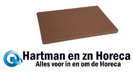 HC873 -Hygiplas LDPE snijplanken bruin