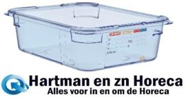 GP584 - Araven ABS blauwe GN1/2 voedseldoos 100 mm