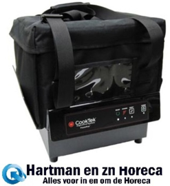 TCS/T200+TCTBAG+TCT-PT - CookTek ThermaCube Delivery System compleet - Tall