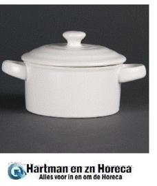 DK817 -  Minipannen wit  Minipan wit 145 x 100 x 50 mm 227 ml (box 4)