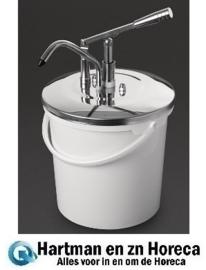 DA362 -Schneider10 liter sausdispenser met hendel