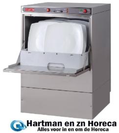 DK355 -Gastro M vaatwasmachine Maestro 50x50cm 230V met afvoerpomp en zeepdispenser