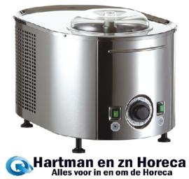 406002 - Musso Sorbetiere Classica ijsmachine 0.3 liter per uur