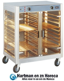 304106 - Rollergrill warmhoudkast - 20x 1/1 GN