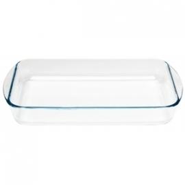 GD031 - Glazen ovenschaal Pyrex rechthoekige schaal 400x270mm