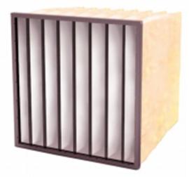 04210 - Meerlaags synthetisch zakkenfilter, klasse F8 - IFS95 SF - B592 X H592 X D600 - 8 ZAKKEN