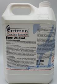 12900 - Sipro Uniquat desinfectie middel voor de voedsel bereidende industrie , met het toelatingsnummer 14554N