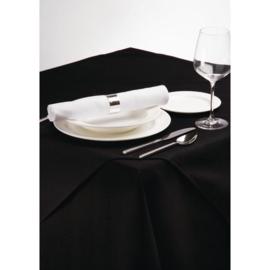 CE695-BK - Tafelkleed zwart 90x90cm