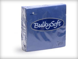 T32740 - Bulkysoft Servet 2 Laags 33×33 1/4 Vouw 1200 st Blauw