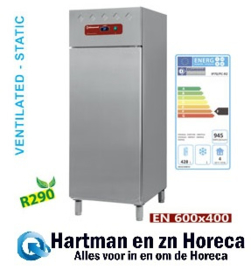 IP70/PC-R2 - Koelkast EN 600x400, geventileerd (of) statisch, 1 deur DIAMOND Euronorm Line