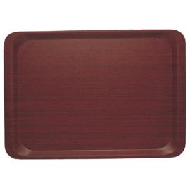 DP210 - Dienblad mahonie 33 x 43 cm