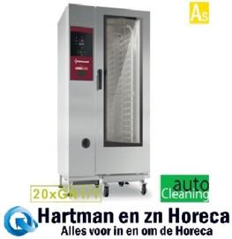SBES/XC-20 - Combisteamer elektrische oven met boiler 20x GN1/1 + Cleaning DIAMOND