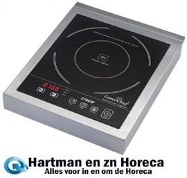 688064 - Caterchef Inductiekookplaat 2700 Watt