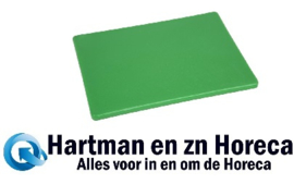 GH793 -Hygiplas LDPE snijplank groen 305x229x12mm