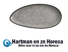 DF180 - Olympia Mineral bladvormig bord 25,5x12cm