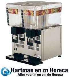 408072 - Santos koude drankendispenser 43-2, 2x 12 liter