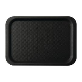 DA773 -Roltex Blackline antislipdienblad zwart 42x30cm