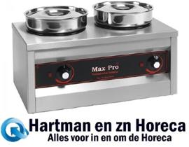 921552 - Chocolade-warmer 2 potten MaxPro