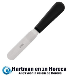 D420 - Hygiplas gebogen paletmes 10cm zwart
