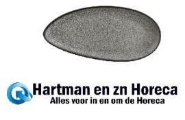 DF181 -Olympia Mineral bladvormig bord 30,5 x 14,5cm