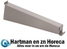 GN190 - Gastro M RVS plankdrager voor wandplank 40 cm