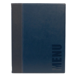 H715 - Menumap Trendy A4 blauw