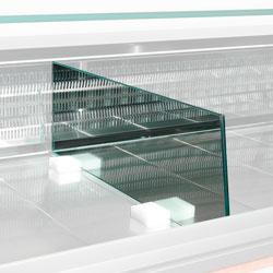 SPCR-87 - Scheiding wand voor in toonbank in glas (L.870 mm)