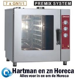 DGV-711/P - Combisteamer Gas oven 7x GN 1/1 DIAMOND